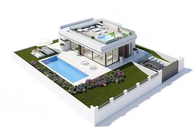 Ref:V4029 Villa For Sale in Polop