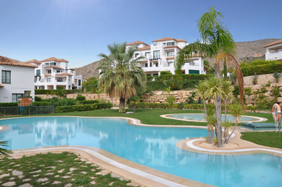 Ref:A4053 Apartment For Sale in Finestrat