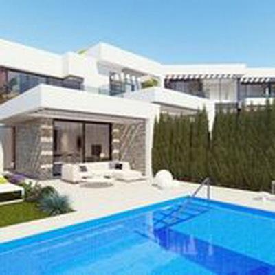 Ref:V4089 Semi-detached Villa For Sale in Finestrat