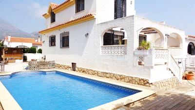 Ref:V4101 Semi-detached Villa For Sale in La Nucia