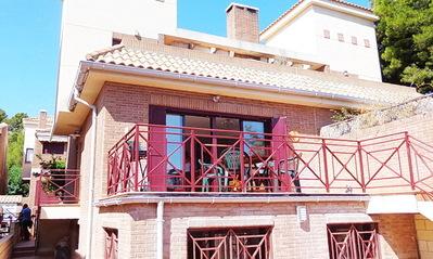 Ref:T4115 Semi-detached Villa For Sale in La Nucia