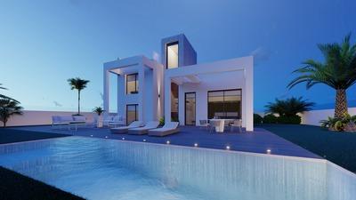 Ref:V4133 Villa For Sale in Finestrat