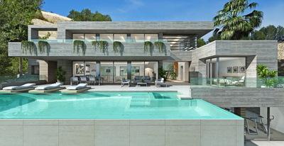 Ref:V4186 Villa For Sale in Calpe
