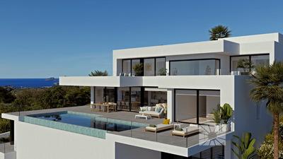 Ref:V4187 Villa For Sale in Calpe