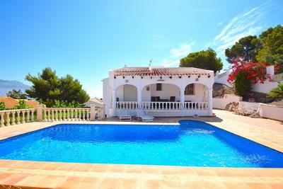 Ref:V4188E Villa For Sale in La Nucia