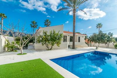 Ref:V4169E Villa For Sale in Alfaz del Pi
