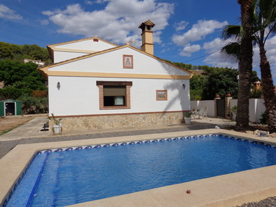 Ref:V4273 Villa For Sale in Polop